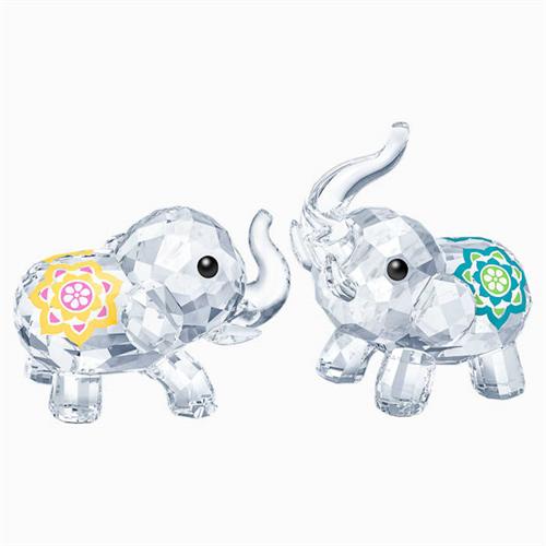 קריסטל SWAROVSKI  LUCKY ELEPHANTS
