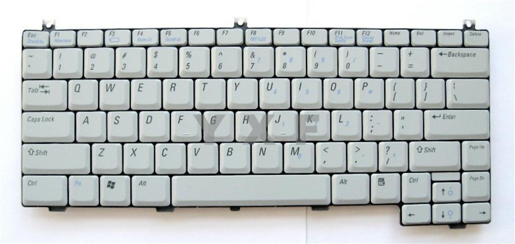 החלפת מקלדת למחשב נייד דל Dell XPS M1210 Keyboard NG734