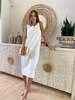 שמלת קיארה לבנה