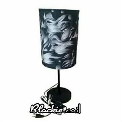 """מנורת שולחן הדפס גראפי """"בייבות"""""""