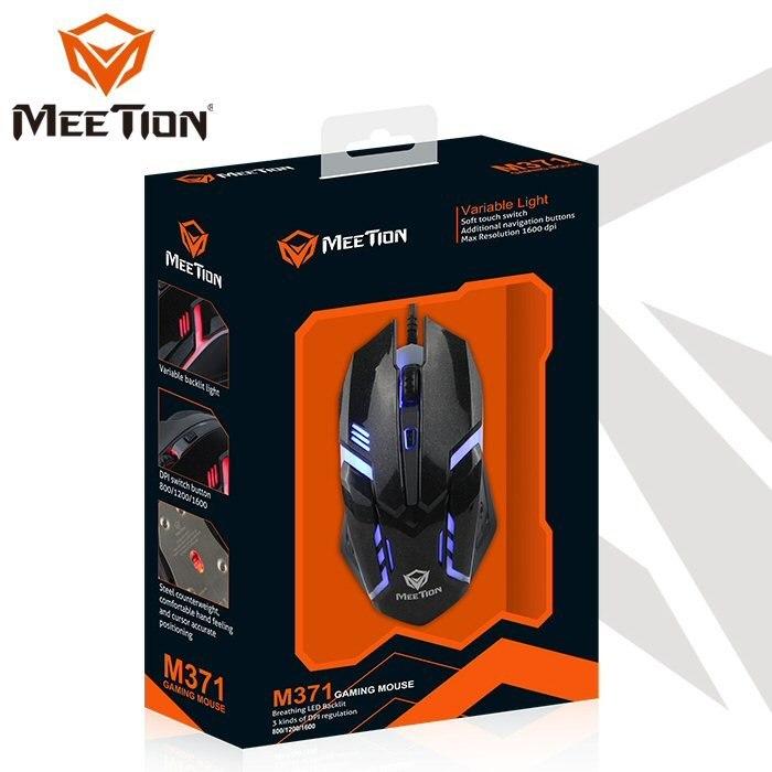 עכבר גיימינג חוטי Meetion M371