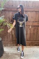 שמלה/טוניקה JOURNEY שסע