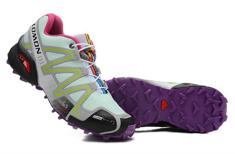 נעלי ריצה Salomon Speed Cross III לנשים סגול ירקרק מידות 36-41