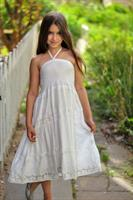 שמלת כיווצים תחרה