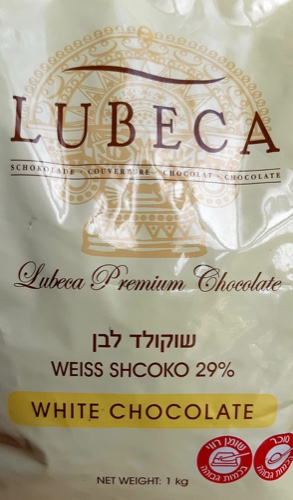 Шоколад белый 29% Лубека 1 кг