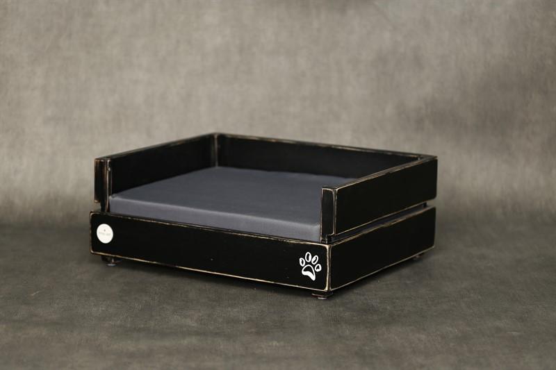 מיטה לכלב- דינגו S לשחור ווש