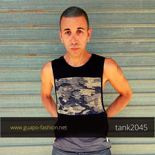 גופייה לגברים sleeveless tank top