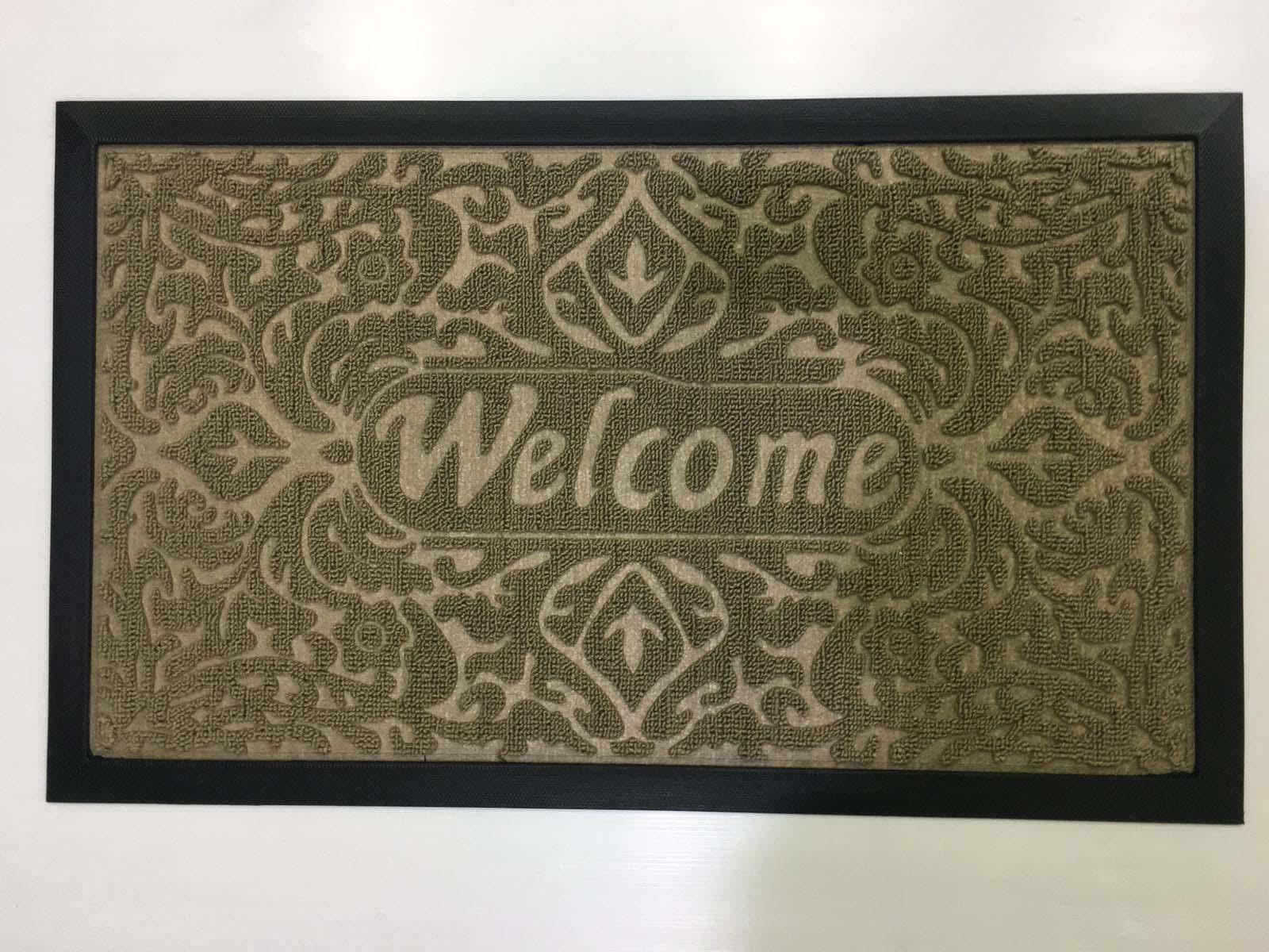שטיח כניסה לבית welcome מעוצב