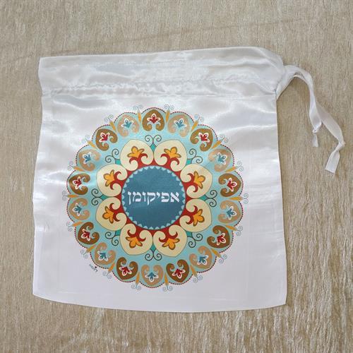 שקית אפיקומן - פרח - דוגמא