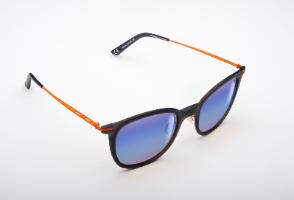 משקפי היפרלייט (נגד קרינה) עם אפקט מראה דגם THE-0102OG, MRBU צבע כתום