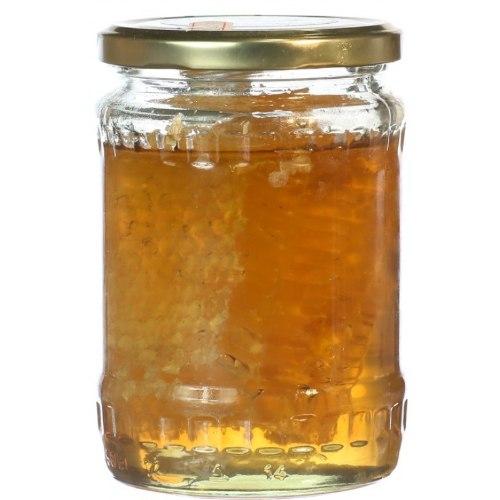 דבש דבורים עם חלת דבש 400 גרם