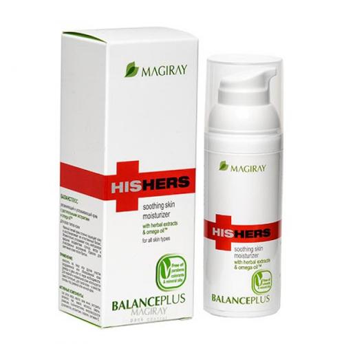 Magiray HisHers Balance Plus - באלנס פלוס קרם לחות לעור רגיש