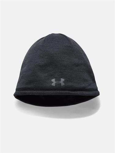 כובע תרמי שחור אנדר ארמור UNDER ARMOUR ColdGear Reactor Elements Beanie