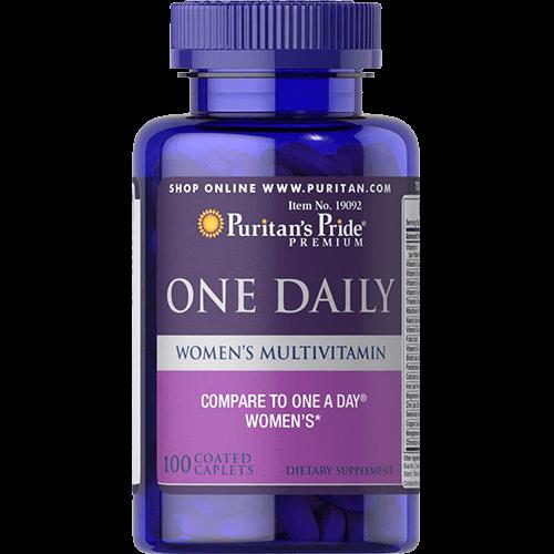 -- מולטי ויטמין יומיומי לנשים -- 100 קפליות