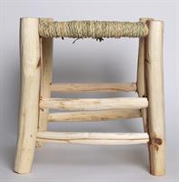 דרגש עץ וחבל נמוך