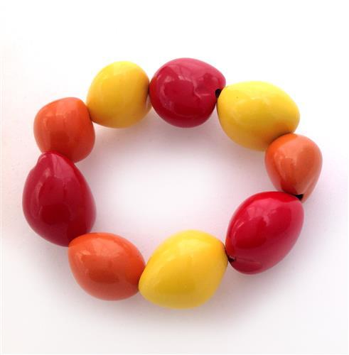 צמיד קוקוי צבעוני