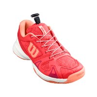 נעלי טניס ילדים  Wilson Junior Rush Pro QL Red