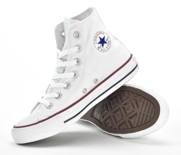 נעלי אולסטאר סניקרס גבוהות  ALL STAR לבן יוניסקס