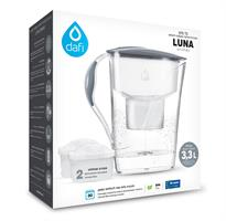 קנקן סינון מים + 2 פילטרים אובלי DAFI UNIMAX