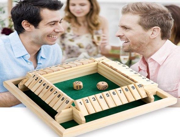 משחק קוביות אסטרטגי - סגור קופסא