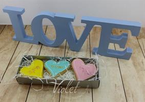 מארז עוגיות לב