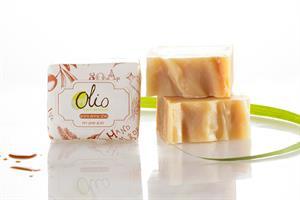 סבון חלב עיזים ודבש בריח למון גראס