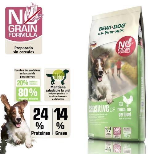 """בווידוג סנסטיב ללא דגנים 12.5 ק""""ג מזון יבש לכלבים"""