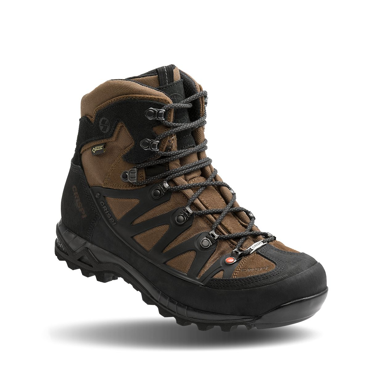 נעלי הרים קריספי -  CRISPI Wyoming RUBBER GTX BROWN