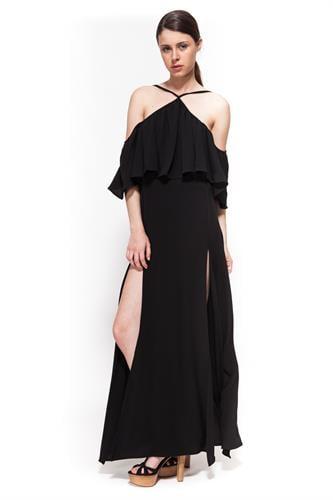 שמלת אקס פקטור שחורה