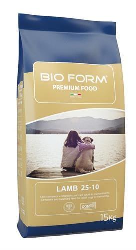 """ביו פורם כבש 15 ק""""ג מזון יבש לכלבים"""