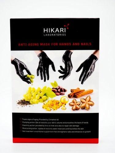 מסכת אנטי אייג'ינג בצורת כפפות לידיים ולציפורניים HIKARI