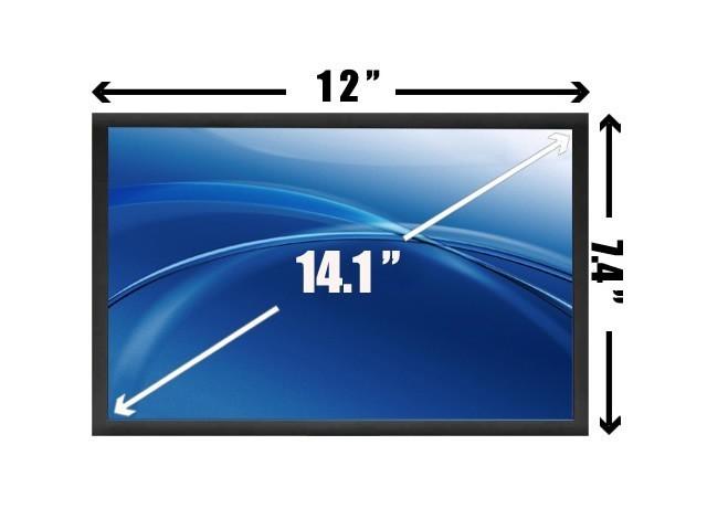 החלפת מסך למחשב נייד דל ולנובו B141PW04 V.0 Dell E6400 IBM Lenovo T400 14.1 1440X900 WXGA+