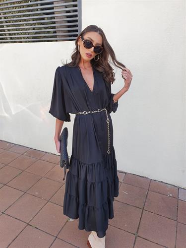שמלת נולה - שחורה