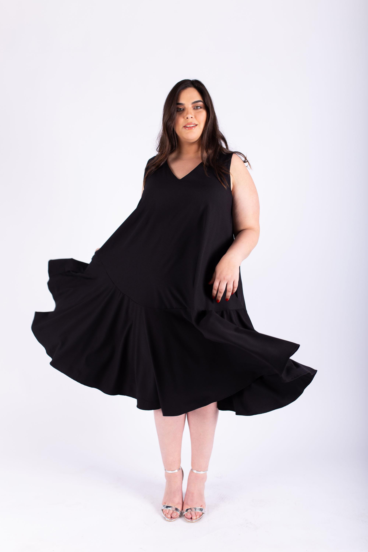 שמלת אנני שחורה