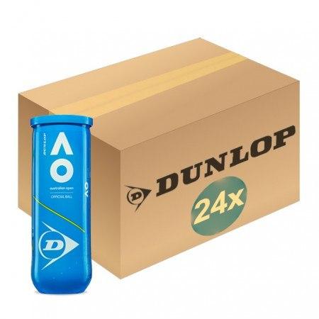 קרטון כדורי טניס - 72 כדורים Dunlop AO