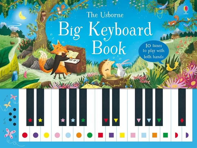 ספר פסנתר מקלדת גדולה