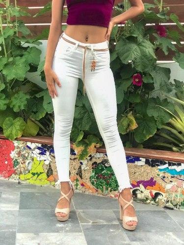 ג'ינס לבן 14649/220 SEXSO