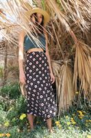 חצאית מעטפת פרח דייזי