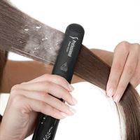 מחליק שיער מקצועי בעל טכנולוגית מיקרו אדים - Silk & Smooth Hair Straightener