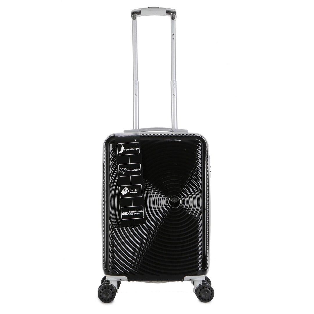 """מזוודה יוקרתית עליה למטוס 20"""" של המותג האוסטרלי Courier - צבע שחור"""
