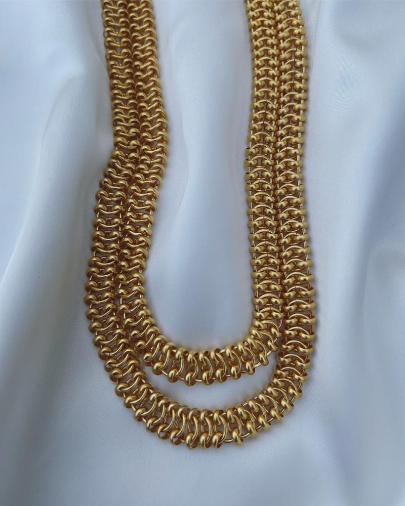 שרשרת חוליות זהב NICE STUFF