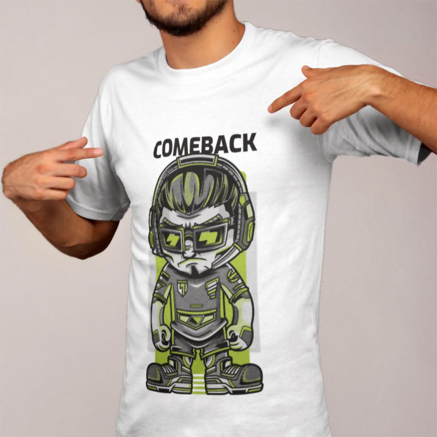 חולצת טי - Comeback