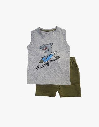 חליפת בנים כריש