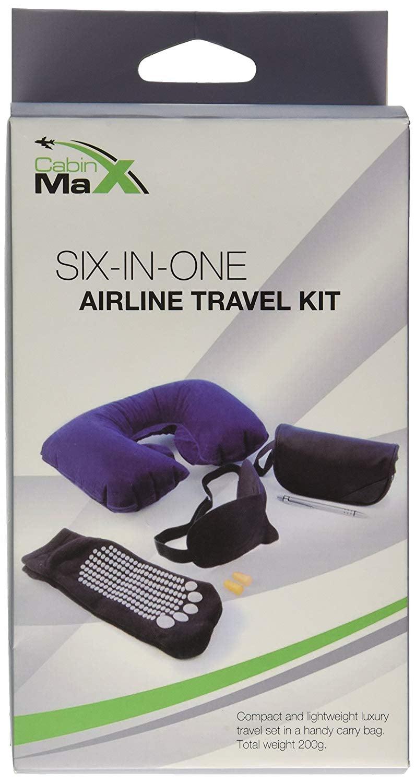 ערכת נסיעה מושלמת עם 6 פריטים CABIN MAX