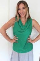 חולצת ליהי ירוקה