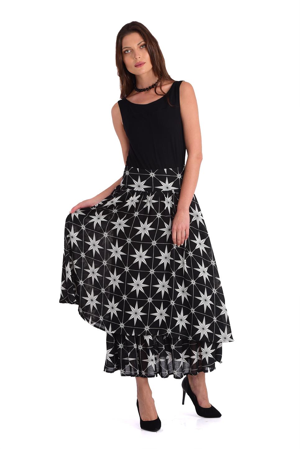 חצאית לילאן שחור