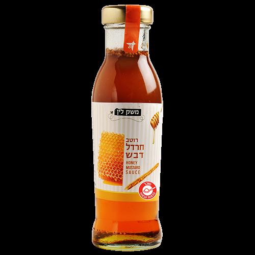 משק לין – רוטב חרדל דבש – 320 גרם