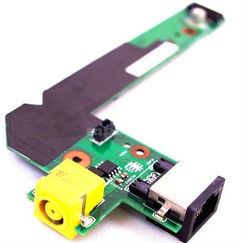 כרטיס שקע טעינה למחשב נייד לנובו כולל יציאת רשת Lenovo Thinkpad Edge E420 E425 E520 E525 DC-In Sub Jack LAN Board Card
