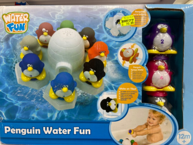 משחק פינגווינים לאמבטיה