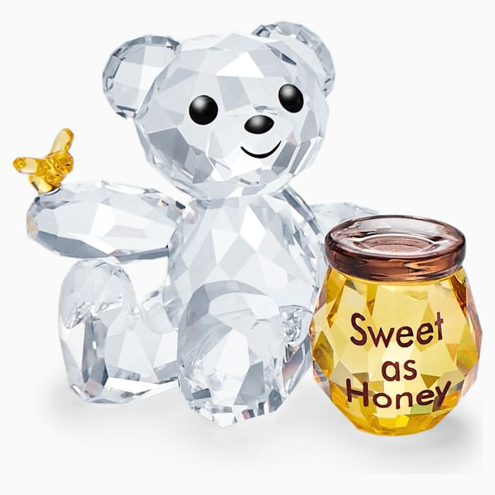 קריסטל SWAROVSKI  KRIS BEAR - SWEET AS HONEY